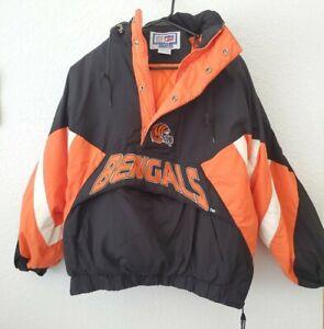 VTG Starter NFL Pro Line Cincinnati Bengals Windbreaker Jacket Size XL