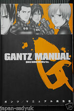JAPAN Gantz / Manual guide book