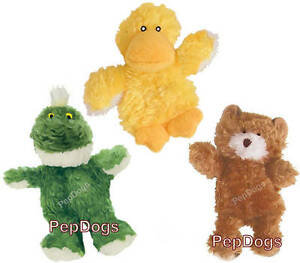 KONG Dr. Noys Dog Puppy Squeaky Plush Toy EXTRA SMALL with Replacement Squeaker