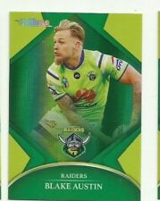 2016 NRL TRADERS PARALLEL CANBERRA RAIDERS BLAKE AUSTIN CARD PO12 FREE POST
