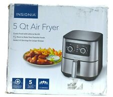 Read Insignia 5 Quart Analog Air Fryer Stainless Steel Ns-Af53Mss0 Free Shipping