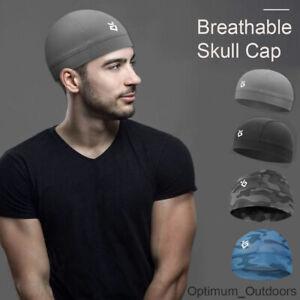 Breathable Skull Cap Wicking Cycling Motor Bike Under Helmet Hat Liner Running