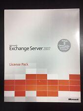 5er User CALs für Microsoft Exchange 2007 Server mit MwSt Rechnung