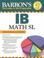 Workbooks study guides textbooks 2011 now publication year for sale barrons ib math sl by stella carey 2014 paperback fandeluxe Images