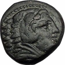 ALEXANDER III the GREAT as HERCULES 325BC Macedonia Ancient Greek Coin i55417