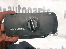1999-2000 CADILLAC ESCALADE AUXILARY HVAC CONTROLER REAR FAN SWITCH 16209335
