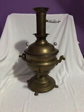 Vintage Brass Tea Kettle with Spout Used