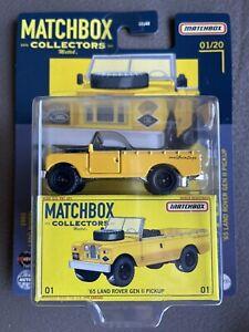Matchbox 2021 Collectors Series 65 Land Rover Gen II Pickup #1/20 New