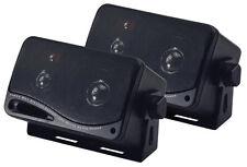 "Lot of (2) Pyramid - 2022SX 200W 3-Way 3.75"" Car Audio Mini Box / Home Speakers"