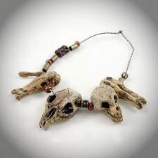 Hot Toys MMS250 Alien vs. Predator ANCIENT PREDATOR Figure 1/6 SCULPTED SKULLS