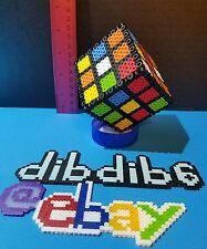 3D rubiks cube perler kandi rave EDC PLUR rubik