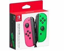Genuine Nintendo Switch - Joy-Con (R) (L) Wireless Controller Neon Green / Pink