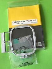 für BROTHER Stickmaschine M3000/3100D   Stickrahmen M  10x10cm  # 3484