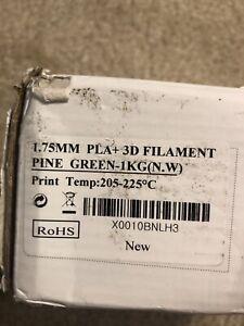 ESUN 1.75mm 3D Printing Filament 1kg Spool - Pine Green