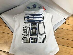 "Petco Star Wars R2-D2 Dog Pet Sweatshirt Hoodie Size XXXL 25-27"" NEW WITH TAGS"