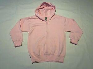 JOB LOT Kids Gildan Heavy Blend Zip Hoody. Light Pink 3-4 x 24. J63-35.