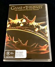 GAME OF THRONES : Season 2 DVD (( New )) The Complete Second Season ~ FREE POST