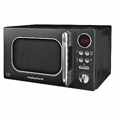 Morphy Richards Accents Black Microwave 20l Solo 800w 511500