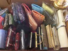 Lot #3 - 6 Design Bags Clutch Purse Pouches Case. Retail value $120.00 - $300.00