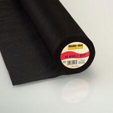 ganze Rolle Freudenberg H410 schwarz Vlieseline Bügeleinlage  90cm x 25m