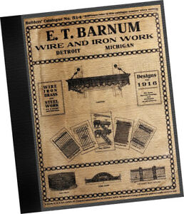 Barnum 1916 Iron Wire Works CATALOGUE Builders Architects porticos gates stairs