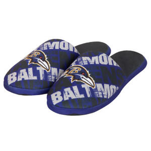 Baltimore Ravens NFL Kids' Graphic Slippers Size XL 7/8, New With Tags