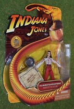 "INDIANA JONES CARDED 3.75"" RAIDERS OF THE LOST ARK MARION RAVENWOOD"