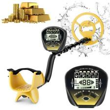 Metal Detector Gold Digger Finder Deep Sensitive Waterproof Hunter w/Lcd Bn