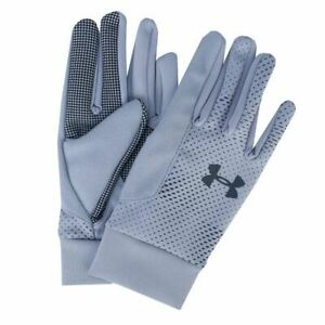 Accessories Mens Under Armour Core Liner Breathable Gloves in Grey