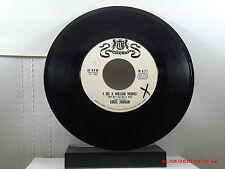 LOUIS JORDAN-(45)-WHITE LABEL PROMO   I SEE A MILLION PEOPLE/I'M GOIN' HOME-1962
