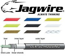 Pre Lubricated JAGWIRE Bike Gear Outer Cable Blue,White,Red Yellow,Green etc