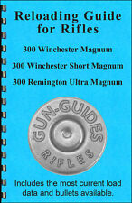 Reloading Book Manual Guide 300 Win Mag WSSM Ultra Magnum from Gun-Guides all 3