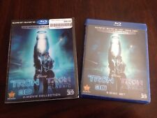DISNEY TRON LEGACY 3D ORIGINAL CLASSIC BLU RAY/DVD SLIPCOVER NEW SEALED OOP RARE