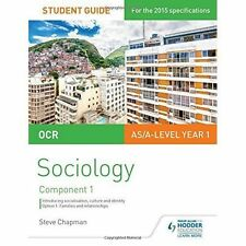OCR Sociology Student Guide 1: Socialisation, Culture and Identity with Family …