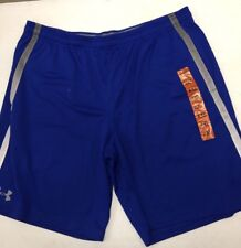 NWT Men's Under Armour Athletic Shorts Blue XXL NEW
