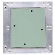 Revisionsklappe Revisionstür Aluminium-Rahmen Gipskarton 30x30 cm V2Aox