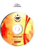 Pes 2007 Européenne Finals Seville 2007 Press Disque PS2 Unpublished Matiere