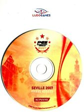 PES 2007 European Finals Seville 2007 Press Disc PS2 Unpublished Material