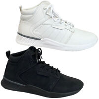 Mens Trainer Chukka Boots Soft Hightop Lace Up Jogging Gym Fitness Running New