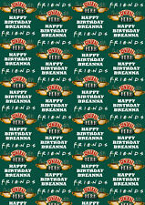 Friends TV Show Personalised Gift Wrap - Friends Central Perk Wrapping Paper