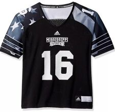 Adidas Women's Mississippi State Bulldogs Football Patriot Jersey Small S