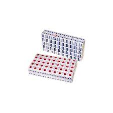 100pcs Standard Plastic 10mm Game White Dice Die Hot Sale