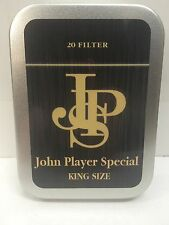 John Player Special Advertising Brand Cigarette Tobacco Storage 2oz Hinged Tin