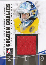 10-11 ITG Henrik Lundqvist /80 Jersey Between The Pipes Golden Goalies