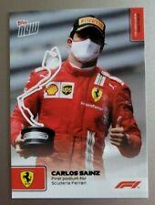 2021 Topps Now F1 #12 Carlos Sainz 1st Podium for Scuderia Ferrari Formula 1