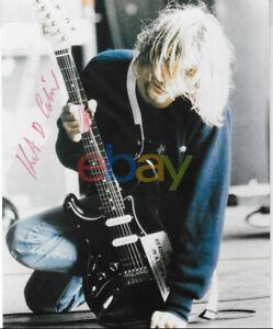 Kurt Cobain Nirvana Autographed 8x10 Photo reprint
