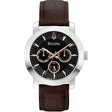 Bulova Men's Quartz (Battery) Analog Wristwatches