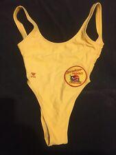 Baywatch Hawaii Screen Worn Yellow Tank Swimsuit By Stacy Kamano or Kekoa Tanaka