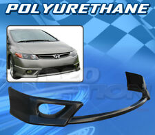 FOR HONDA CIVIC 06-08 2DR T-HFP STYLE FRONT BUMPER LIP BODY KIT POLYURETHANE PU