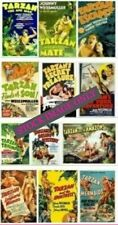 Tarzan (12) Movie DVD Collection B&W Set Johnny Weissmuller *Read full details